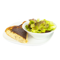 Tarte avec saladette