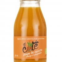 Soupe BIO carotte et gingembre 0,25L