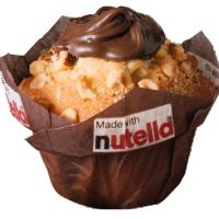 muffin coeur nutella *